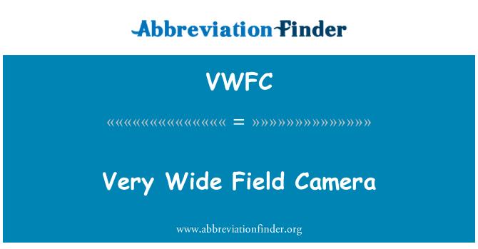 VWFC: Very Wide Field Camera