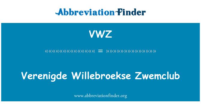 VWZ: Adıyla Willebroekse Zwemclub