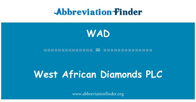 WAD: West African Diamonds PLC