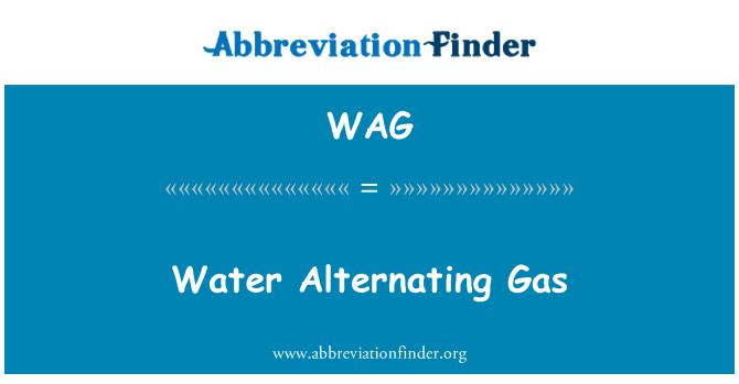WAG: Water Alternating Gas