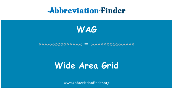 WAG: Wide Area Grid