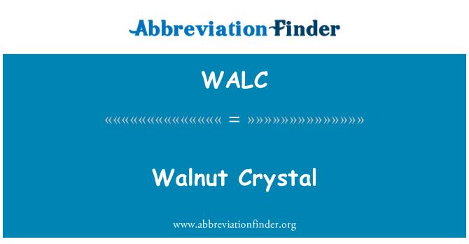 WALC: Nogal cristal