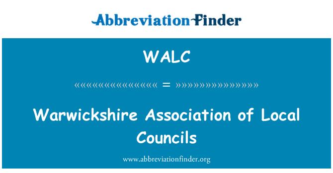 WALC: Warwickshire Asociación de ayuntamientos