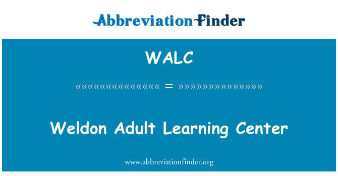 WALC: Weldon Adult Learning Center
