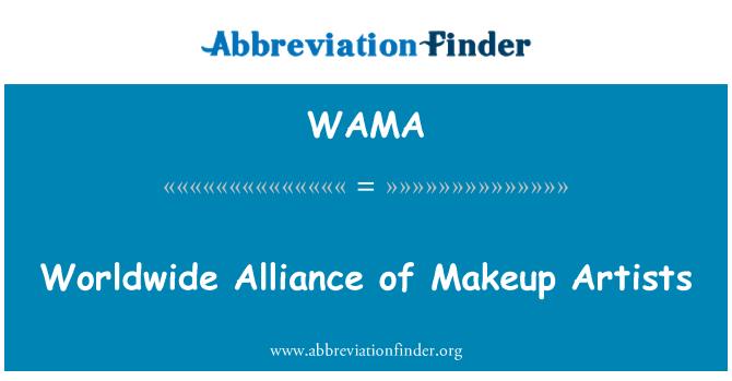 WAMA: Worldwide Alliance of Makeup Artists
