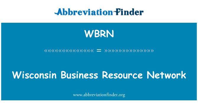 WBRN: Wisconsin obchodních zdrojů sítě