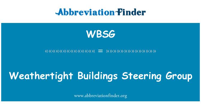WBSG: Estanca edificios grupo