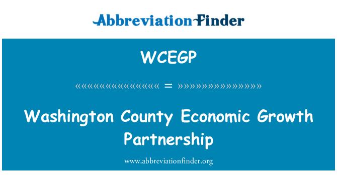WCEGP: Asociación de crecimiento económico del Condado de Washington