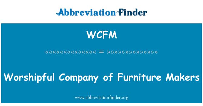 WCFM: Gremio de los fabricantes de muebles