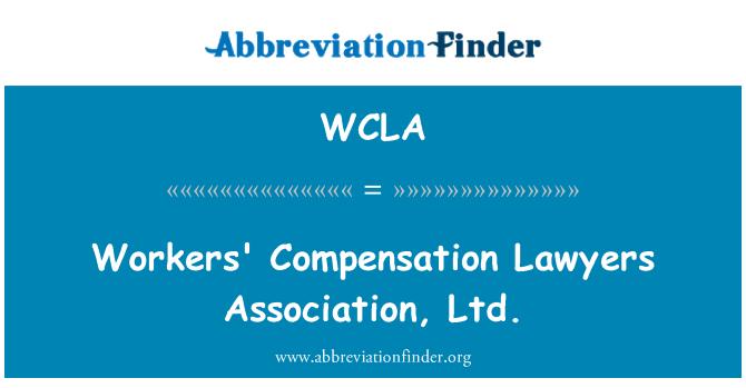 WCLA: Abogados de compensación al trabajador Association, Ltd.