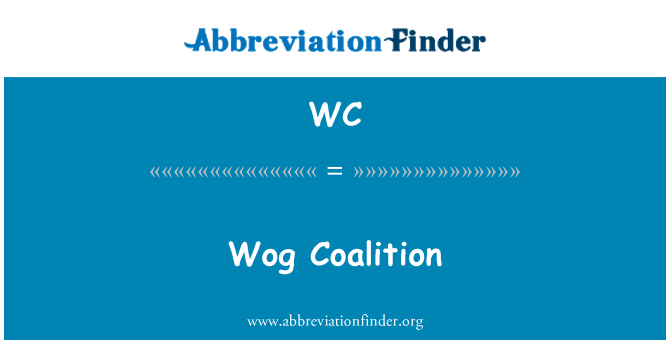 WC: Wog Coalition