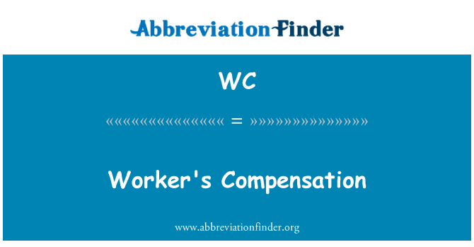 WC: Worker's Compensation