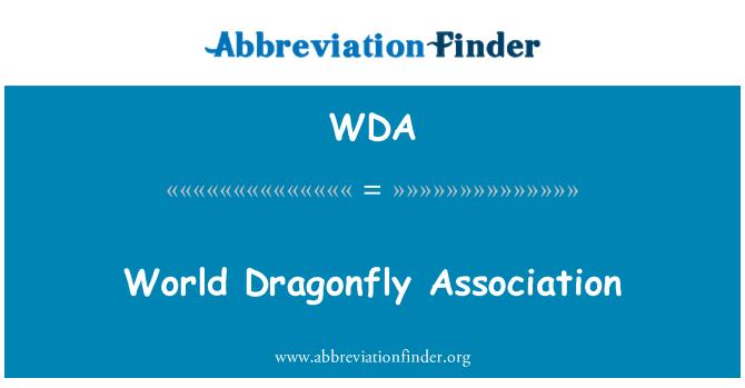 WDA: World Dragonfly Association