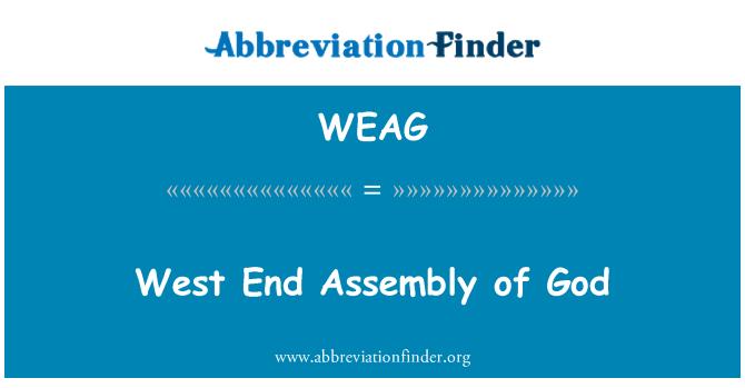 WEAG: West End Asamblea de Dios
