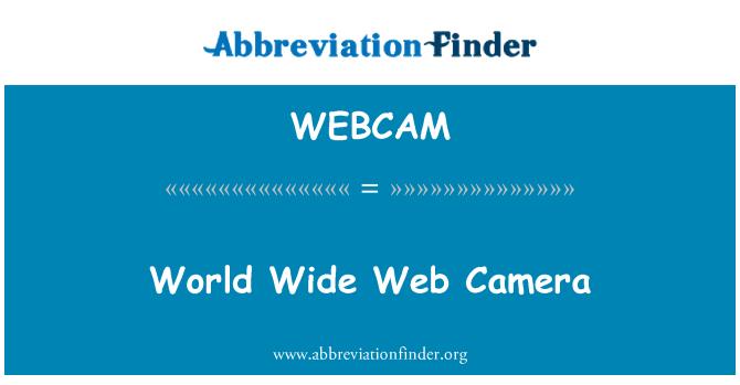 WEBCAM: World Wide Web Camera