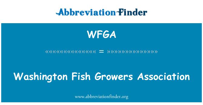 WFGA: Asociación de cultivadores de peces Washington