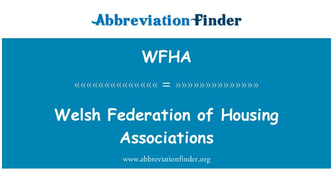 WFHA: Walesi Föderatsiooni korteriühistute