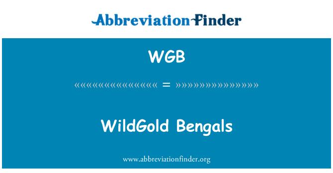 WGB: WildGold Bengals