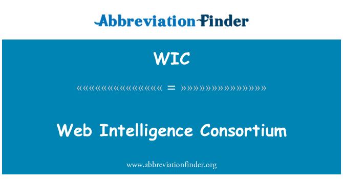 WIC: Web Intelligence Consortium
