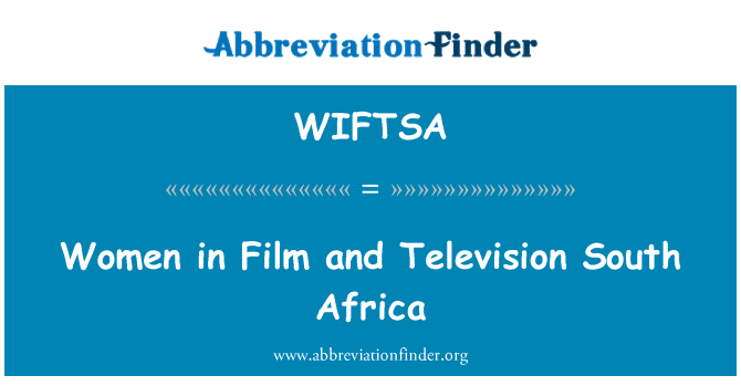 WIFTSA: Women in Film and Television South Africa