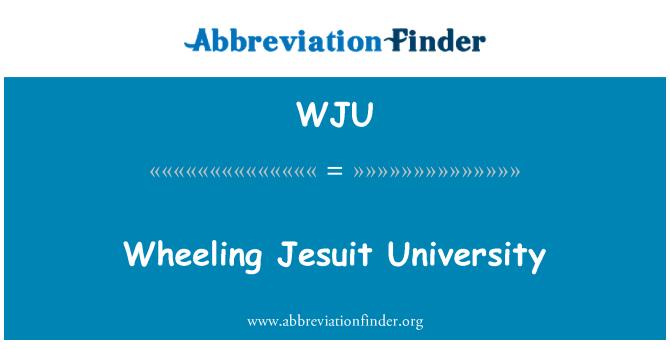 WJU: Wheeling Jesuit University