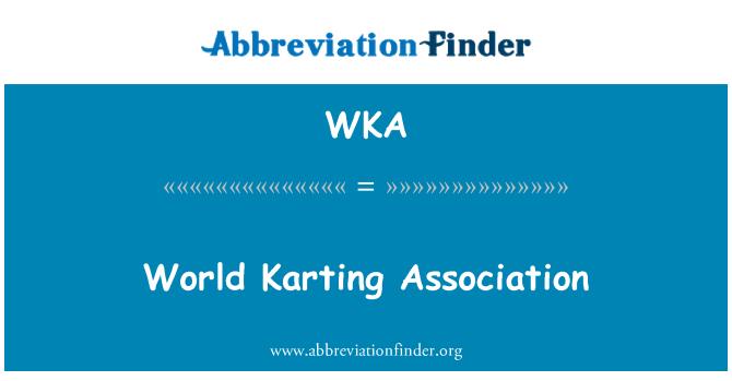 WKA: World Karting Association