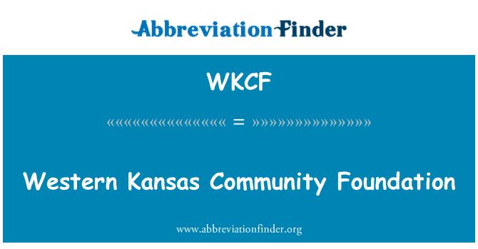 WKCF: Western Kansas Community Foundation