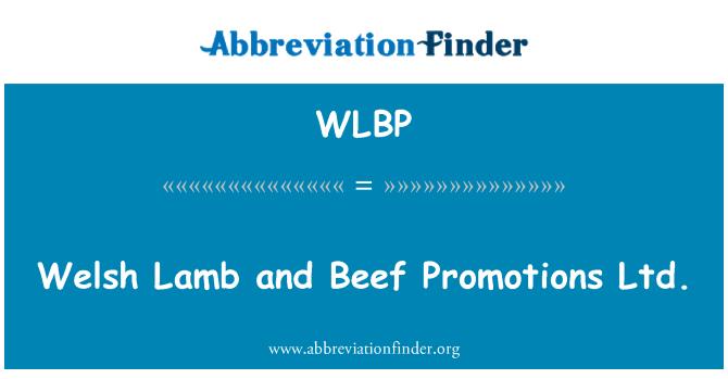 WLBP: Walesi lambaliha ja veiseliha Promotions OÜ