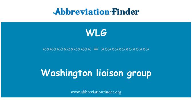 WLG: Washington liaison group