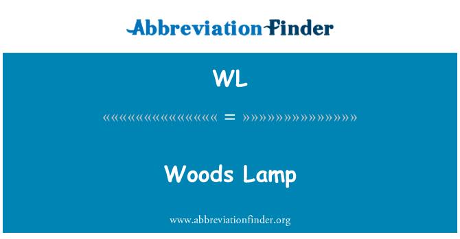 WL: Woods Lamp