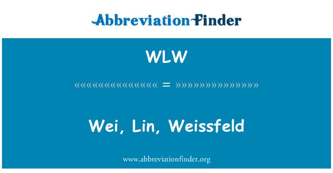 WLW: Wei, Lin, Weissfeld