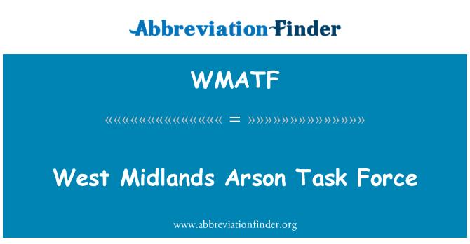 WMATF: Fuerza de tarea de incendio West Midlands