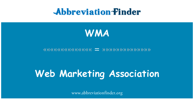 WMA: Web Marketing Association