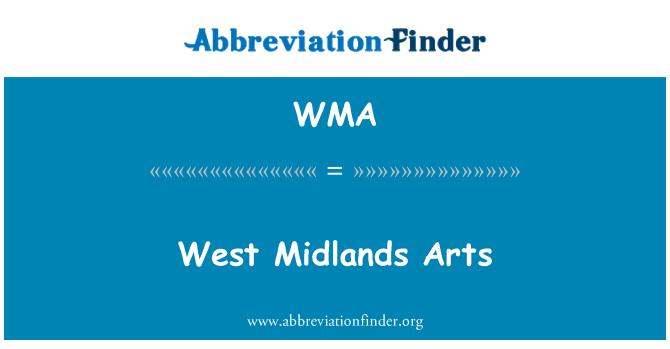 WMA: West Midlands Arts