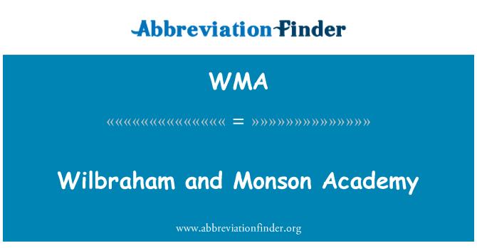 WMA: Wilbraham and Monson Academy