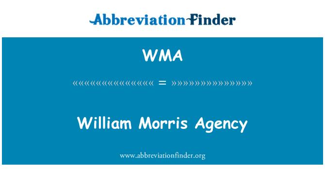 WMA: William Morris Agency