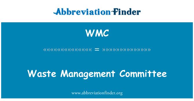 WMC: Waste Management Committee