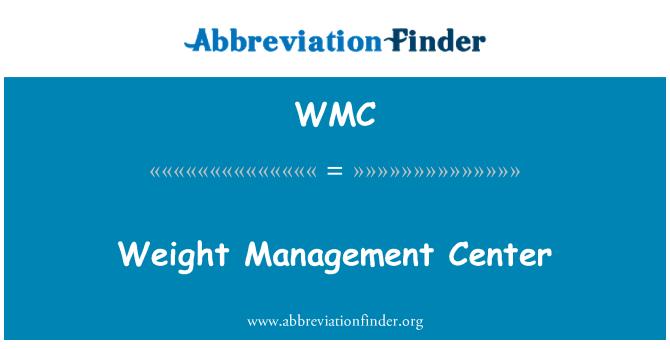 WMC: Weight Management Center