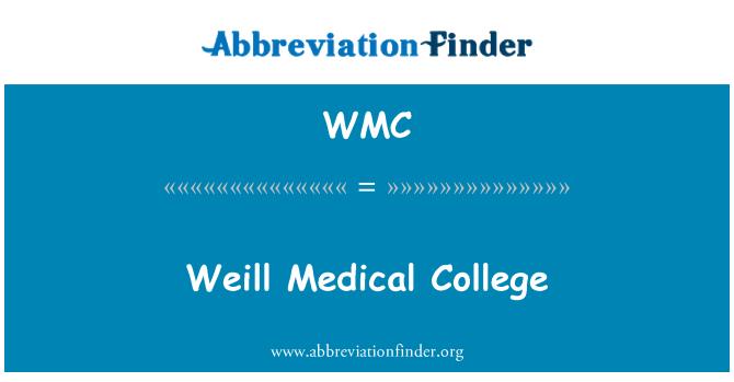 WMC: Weill Medical College