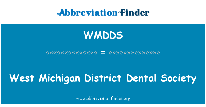 WMDDS: West Michigan District Dental Society