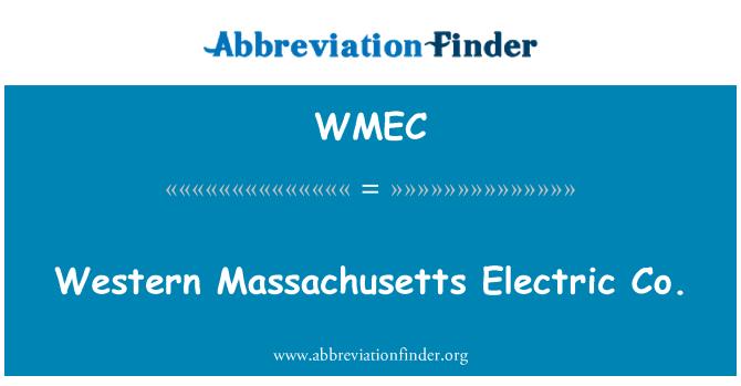 WMEC: Western Massachusetts Electric Co.