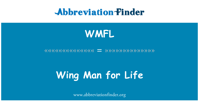 WMFL: Wing Man for Life