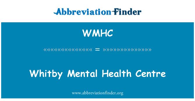 WMHC: Whitby ruh sağlığı Merkezi