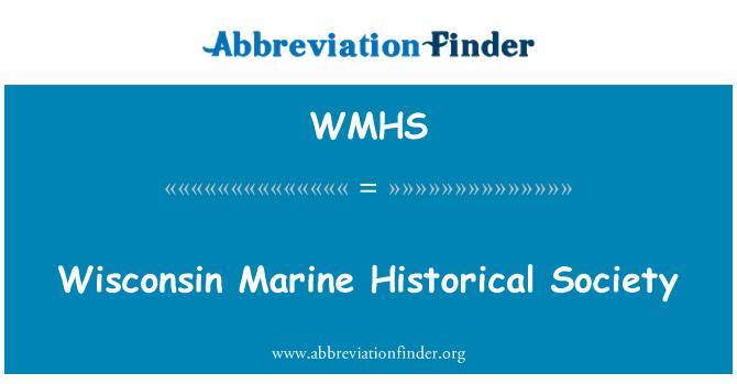 WMHS: Wisconsin Marin Historical Society