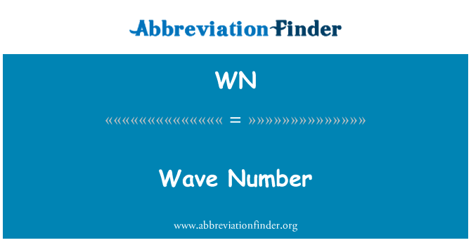 WN: Wave Number
