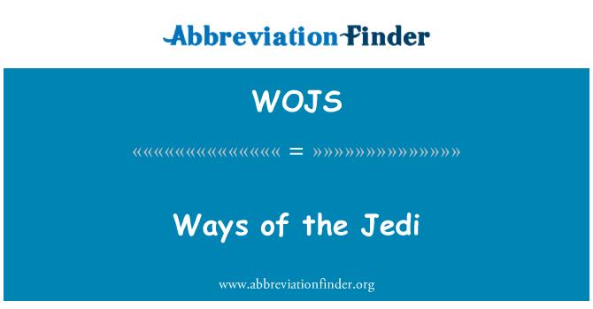 WOJS: Caminos de los Jedi
