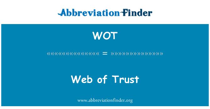 WOT: Web of Trust