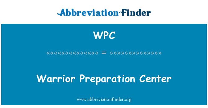 WPC: Warrior Preparation Center