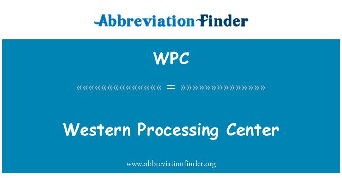 WPC: Centro de procesamiento de Western