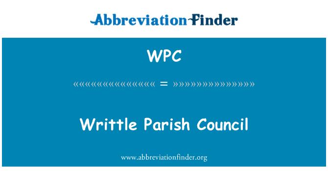 WPC: Writtle Parish Council